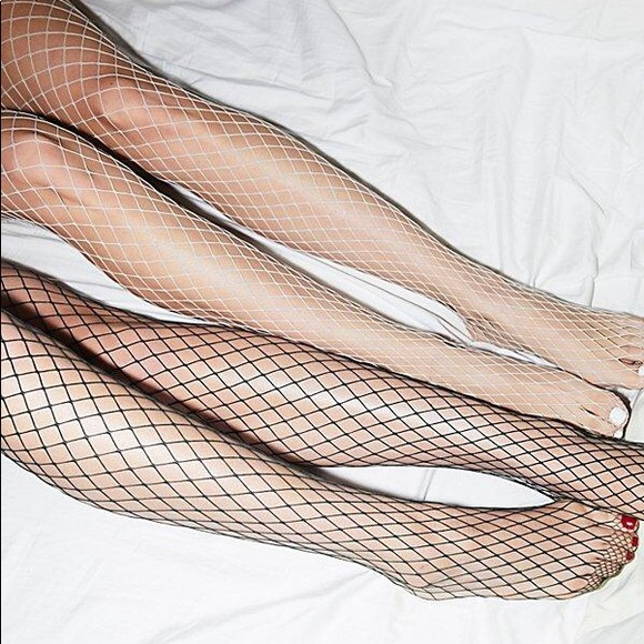 Free People Accessories - 2 Free People Libby Fishnet Tights!